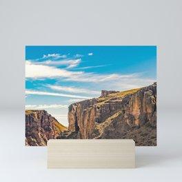Rocky Mountains Patagonia Landscape - Santa Cruz - Argentina Mini Art Print