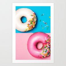 Donut wall Art Print