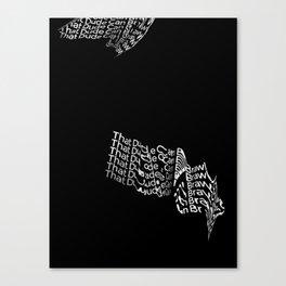 That Dude Can Brawl Canvas Print
