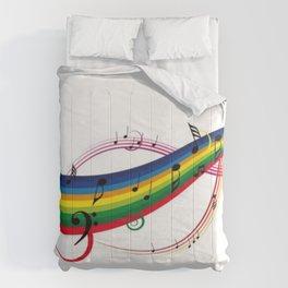 Colorido pentagrama Comforters