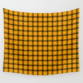 Small Orange Weave Wall Tapestry