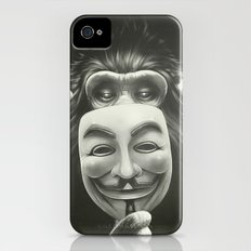 Anonymous iPhone (4, 4s) Slim Case