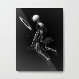 Saturn Dunk Metal Print