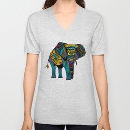 Elephant of Namibia Unisex V-Neck