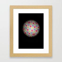 Caleidoscope Art   Chabby Framed Art Print