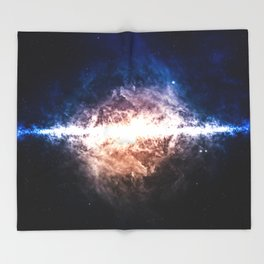 Star Field in Deep Space Throw Blanket