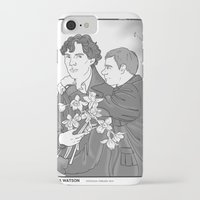 smiths iPhone & iPod Cases featuring Sherlock as The Smiths by Stitchy