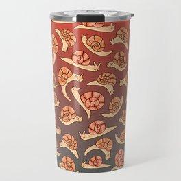 Snail Pattern Travel Mug