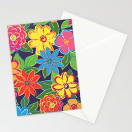 Painted Blooms Stationery Cards
