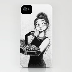 breakfast with Tiffany iPhone (4, 4s) Slim Case