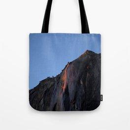 Horsetail Waterfall  Tote Bag