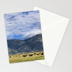 Field of Cows Stationery Cards