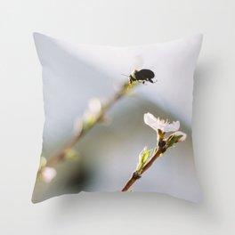Work Commute Throw Pillow