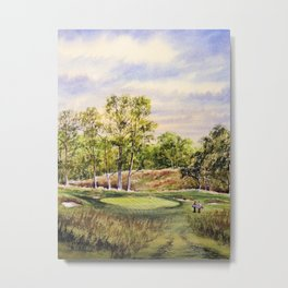 Merion Golf Course 17th Hole Metal Print