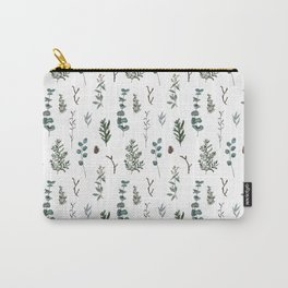 Pine and Eucalyptus Carry-All Pouch