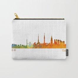 Tokyo City Skyline Hq V1 Carry-All Pouch
