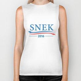 Snek for President 2016 Biker Tank