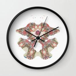 Inkdala XXIV - Ink Blot Wall Clock