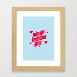HAPPY GALENTINE'S DAY Framed Art Print