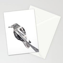 untitled crow Stationery Cards