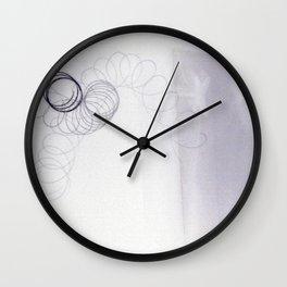 Night circles Wall Clock