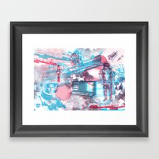 SPACE :::  Framed Art Print