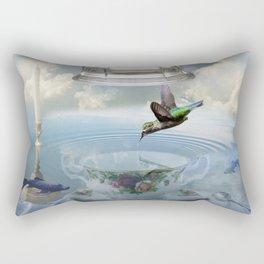 Invisibility Rectangular Pillow
