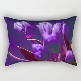 VIOLET TULIPS Rectangular Pillow