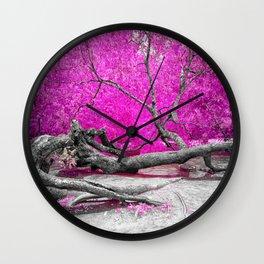 Dried Tree Wall Clock