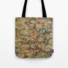 Marbled Gold Tote Bag