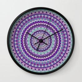 Iris Passion Mandala Wall Clock