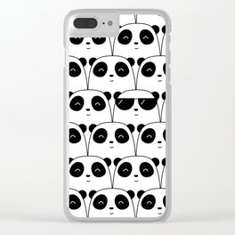 That Cool Panda Clear iPhone Case