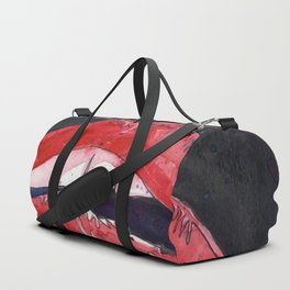 Rocky Horror Sexy Lips Duffle Bag