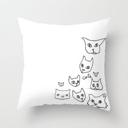 Cats Cat Throw Pillow