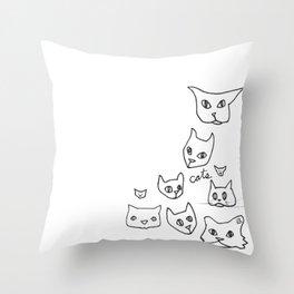 Cats Cat Throw Pillow