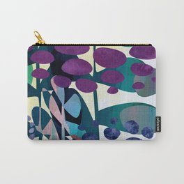 Blue Aliums Carry-All Pouch