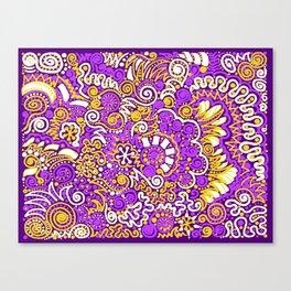 ka-doodle 1 Canvas Print