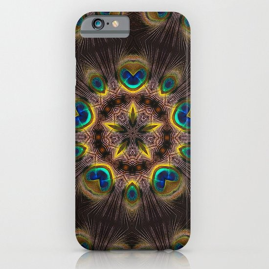 The Eye of the Peacock iPhone & iPod Case
