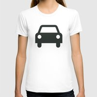 car T-shirts featuring Car by Alejandro Díaz