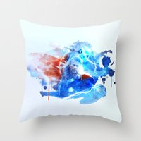 thor Throw Pillows featuring Thor by Rose's Creation