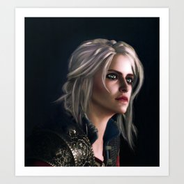 Ciri : The Witcher Art Print