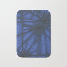 Stained Glass Web Bath Mat