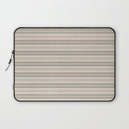 Beige Stripes Laptop Sleeve
