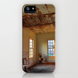 End of Study iPhone Case
