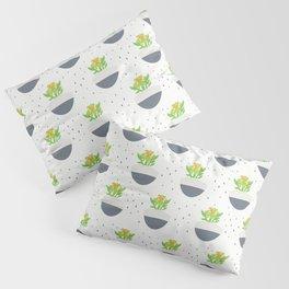 Potted Kalanchoe Plant Mom Pattern Pillow Sham