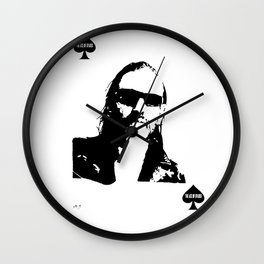 Lemmy Ace of Spades #2 Wall Clock