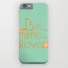 Valentine's Day Orange Peel Heart iPhone 6s Slim Case