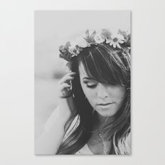 Princesa del Flor Canvas Print