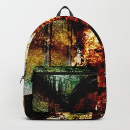 """""""The River of Creativity Runs Through Her"""" Backpack"""
