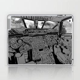 SpaceJet (B/W) Laptop & iPad Skin